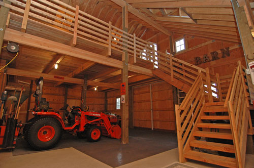 Barn kit accessories for Barn house plans with loft
