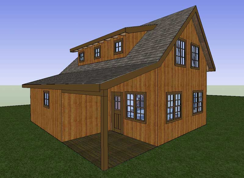 Cabin Home Kits Pole Building Homes Pole Building Home Modern Cabin ...