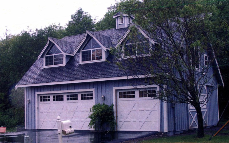 Garage Apartments – Gambrel Garage Apartment Plans