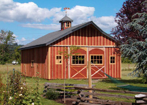 61 Small Barn Plans Plus Do-It-Yourself Building Guides.