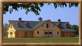 barns, horse barns, barn kits, rv garages, barn homes