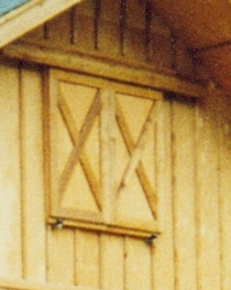 Cross Buck Barn Doors